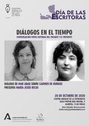 Diálogo de Mar Abad sobre Carmen de Burgos
