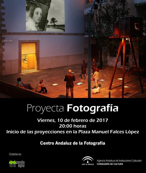 Comenzarán las proyecciones de Proyecta Fotografía en la Plaza Manuel Falces