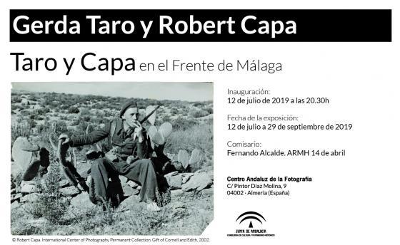 Taro y Capa en el frente de Málaga