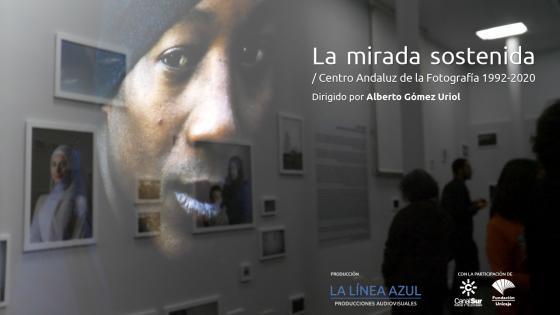 Proyección del al La Mirada Sostenida sobre el Centro Andaluz de la Fotografía