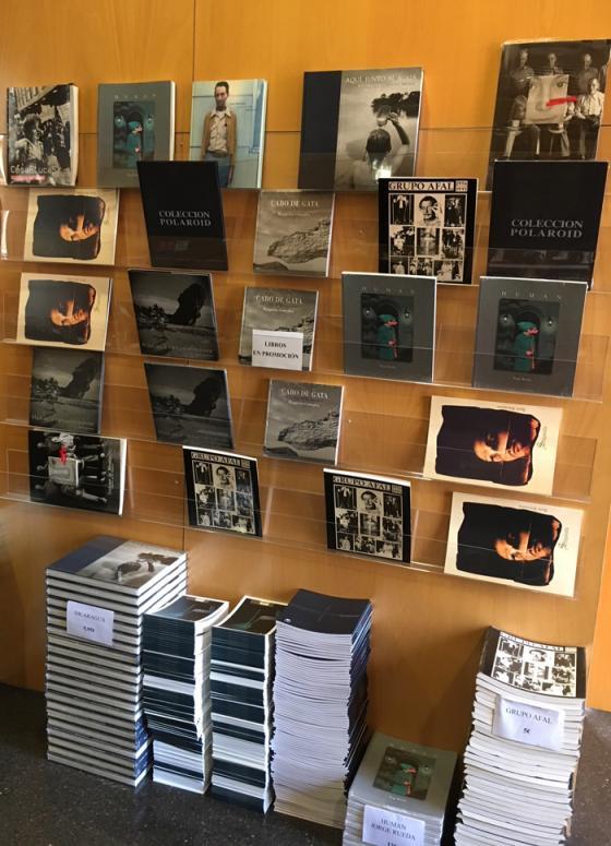 Libros de fotografía en promoción