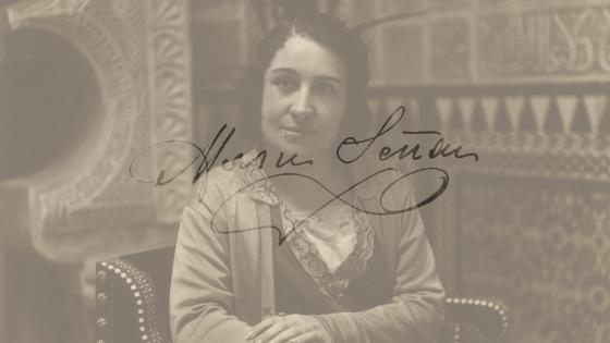 Retrato de María Señan