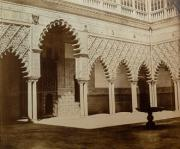 Patio de las Doncellas del Alcázar de Sevilla.