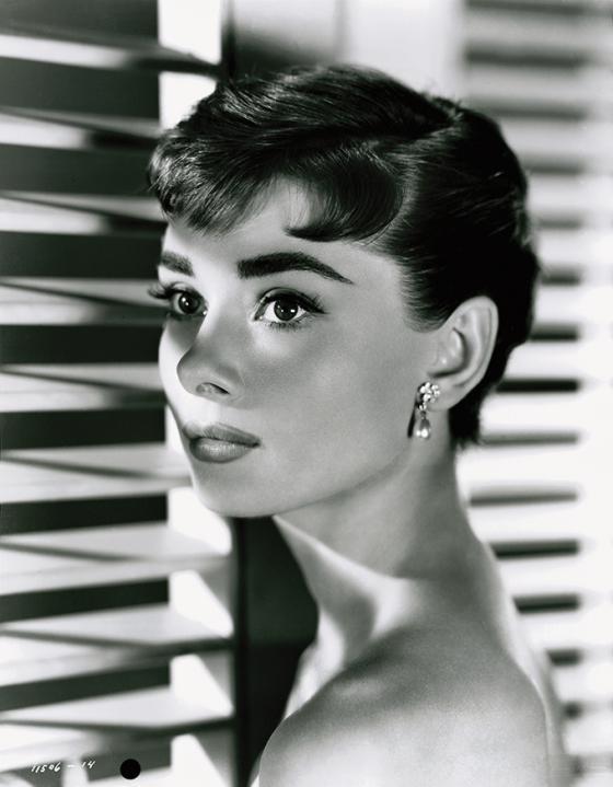 Audrey Hepburn en la expo Hollywood Icons