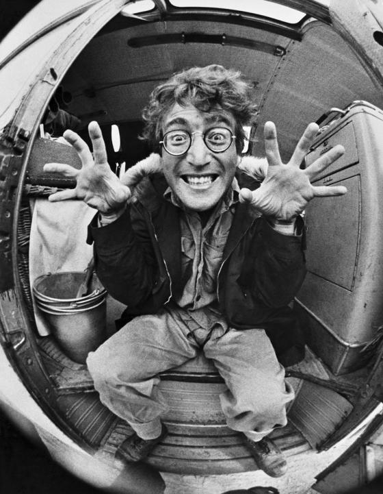 John Lennon, Almería, 1966. César Lucas.