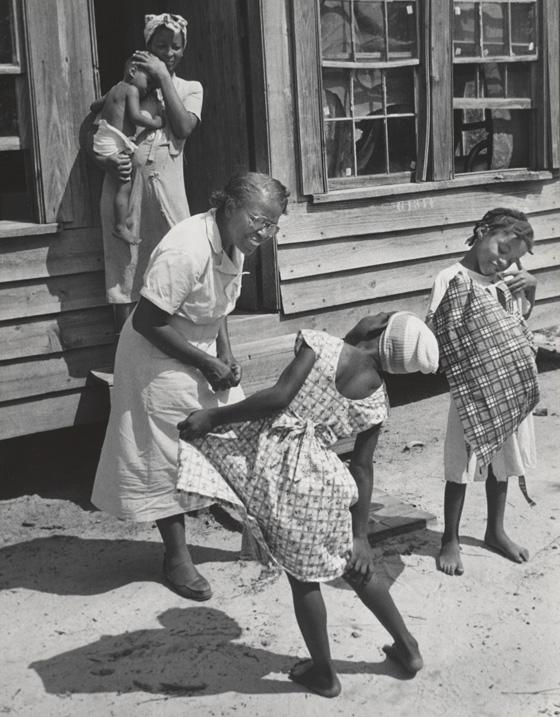Fotografía realizada por Eugene Smith en 1957.