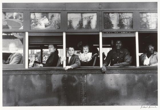 Robert Frank. Tranv�a. Nueva Orleans