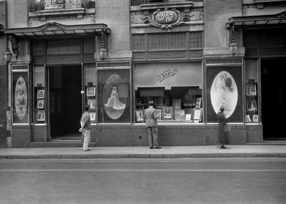 Calle Bernardo de Irigoyen al 300, 1936.