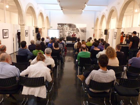 Conference by César Lucas at the Andalusian Centre of Photography