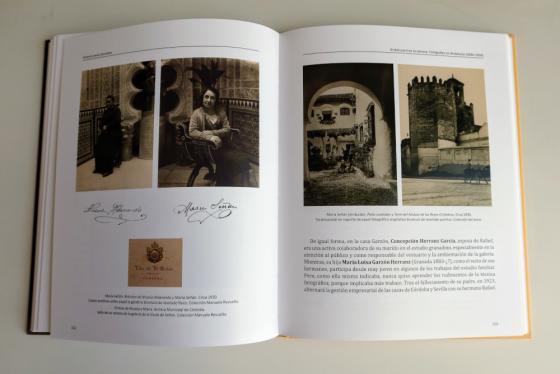 Interior libro Mujeres tras la cámara