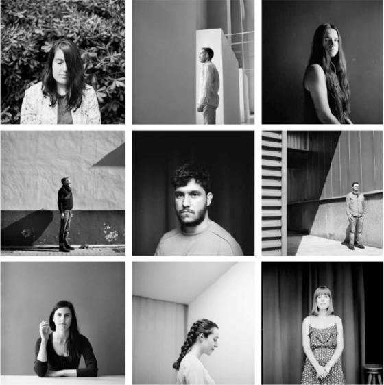 Retratos realizados por Estela de Castro